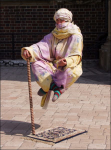 levitating guru