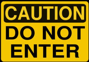Rfc1394_Caution_-_Do_Not_Enter