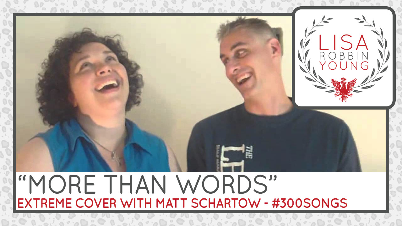 More Than Words. Extreme Cover with Matt Schartow.