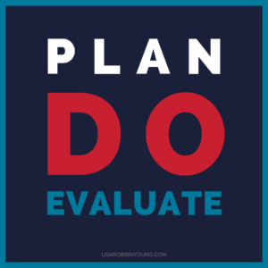 Plan. Do. Evaluate.